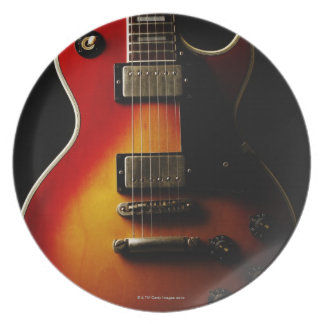 ギターの楽器 プレート