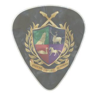 ギターの決闘アカデミーのギターピック パールセルロイド ピック
