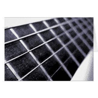 ギターの焦燥の挨拶状 カード