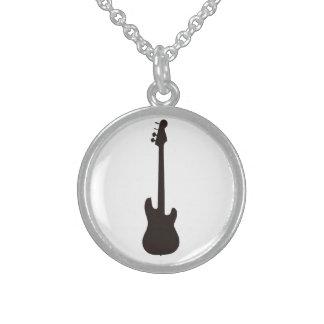 ギターのneckles スターリングシルバーネックレス