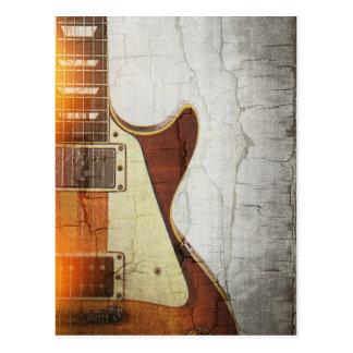 ギターのVibe 1 -切口59を選抜して下さい ポストカード