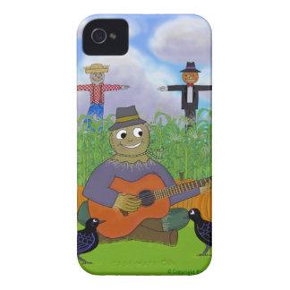 ギターを演奏するかかし Case-Mate iPhone 4 ケース
