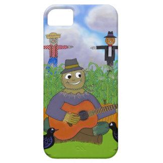 ギターを演奏するかかし iPhone SE/5/5s ケース