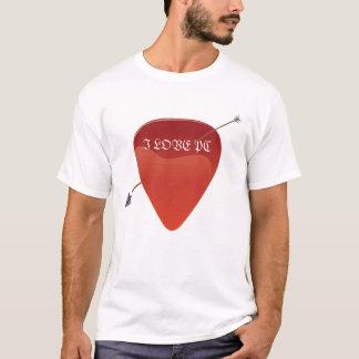 ギターピックのTシャツ Tシャツ