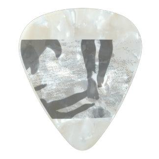 ギターピック-砂の旅行 パールセルロイド ギターピック