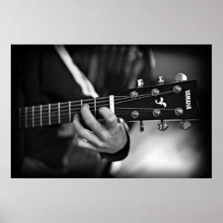 ギターポスターを遊ぶこと ポスター