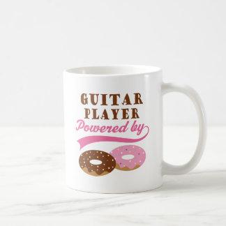 ギター奏者のおもしろいなギフト コーヒーマグカップ