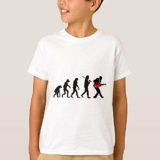 ギター奏者の進化 Tシャツ