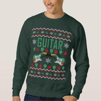 ギター奏者の醜いクリスマスのセーター スウェットシャツ