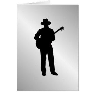 ギター奏者 カード