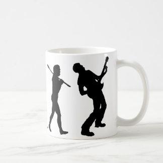 ギター奏者 コーヒーマグカップ