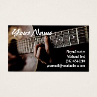 ギター奏者-先生-ソングライター-バンド 名刺