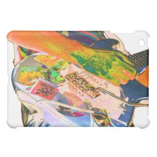 ギター奏者、psychadelic色音楽デザイン iPad miniケース