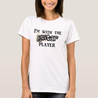 ギター奏者 Tシャツ