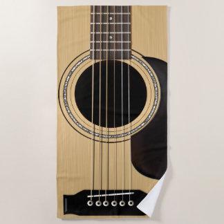 ギター ビーチタオル