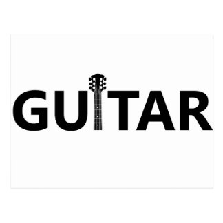ギター ポストカード