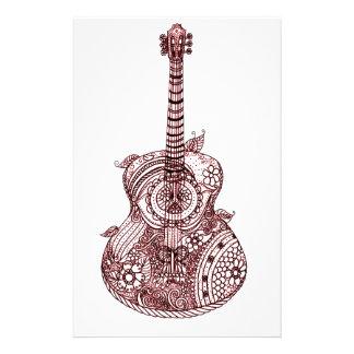 ギター 便箋