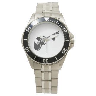 ギター- 腕時計