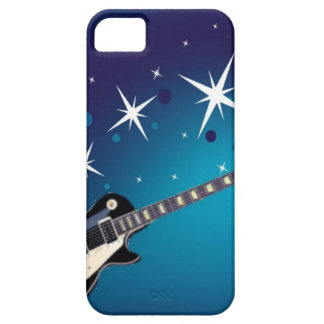 ギター-青 iPhone SE/5/5s ケース