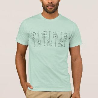 ギター、音楽テーマ Tシャツ