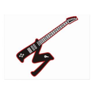 ギターM ポストカード
