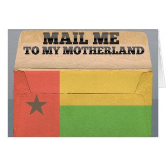 ギニア-ビサウに私を郵送して下さい カード