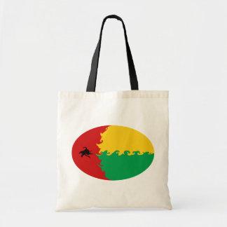 ギニア-ビサウのすごい旗のバッグ トートバッグ