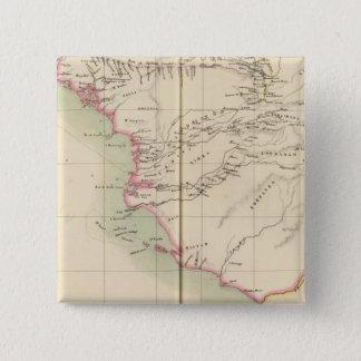 ギニア-ビサウのギニーシエラレオネ、アフリカ 5.1CM 正方形バッジ