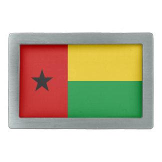 ギニア-ビサウの国旗のベルトの留め金 長方形ベルトバックル