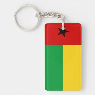 ギニア-ビサウの国旗の国家の記号の長いguin キーホルダー