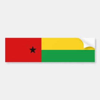 ギニア-ビサウの国旗の国家の記号の長いguin バンパーステッカー