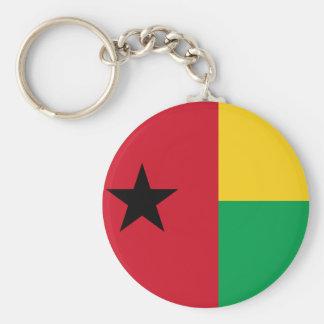 ギニア-ビサウの国民の世界の旗 キーホルダー