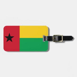 ギニア-ビサウの国民の世界の旗 ラゲッジタグ