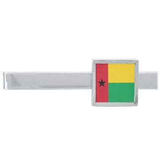 ギニア-ビサウの旗 シルバー タイバー