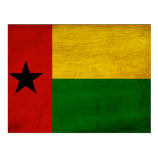 ギニア-ビサウの旗 ポストカード