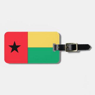 ギニア-ビサウの旗 ラゲッジタグ
