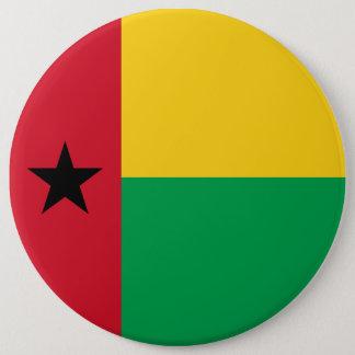 ギニア-ビサウの旗 15.2CM 丸型バッジ