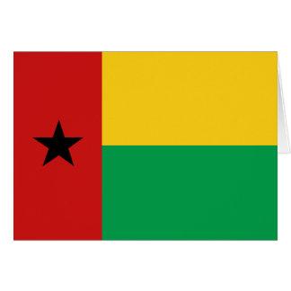 ギニア-ビサウの旗Notecard カード
