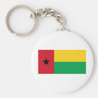 ギニア-ビサウの紋章付き外衣 キーホルダー