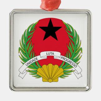ギニア-ビサウの紋章付き外衣 メタルオーナメント
