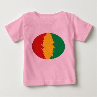 ギニーのコナクリのすごい旗のTシャツ ベビーTシャツ
