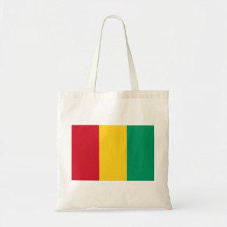 ギニーの国民の世界の旗 トートバッグ