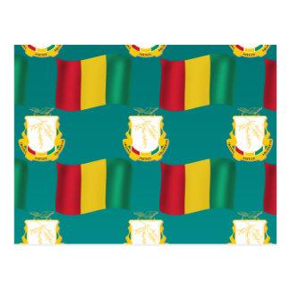 ギニーの旗そして頂上 ポストカード
