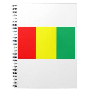 ギニーの旗 ノートブック