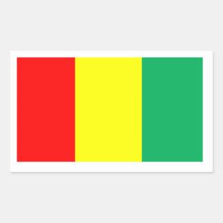 ギニーの旗 長方形シール