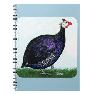 ギニーの王室のな紫色および空 ノートブック