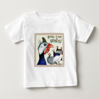 ギニーを愛するために得られる! ベビーTシャツ