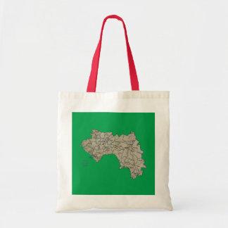 ギニーコナクリの地図のバッグ トートバッグ