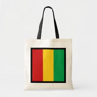 ギニーコナクリの旗のバッグ トートバッグ