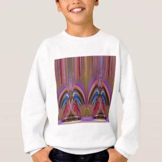 ギフトのおもしろいの創造的なファンタジーのグラフィックアートはからかいます スウェットシャツ